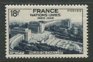 France - Scott 606 - General Issue -1948 - MLH - Single 18fr Stamp