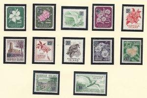 Norfolk Island 71-82 MNH  1966