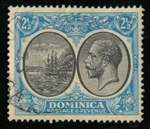 1923-1933 Seal of Colony & King George V, Dominica (4175-T)
