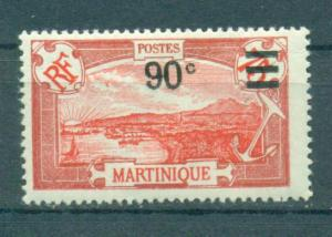 Martinique sc# 123 mh cat value $3.75