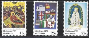 Australia Scott # 719-721 MNH