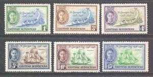 Br Honduras Scott 131/136 - SG166/171, 1949 Saint George's Cay Set MH*
