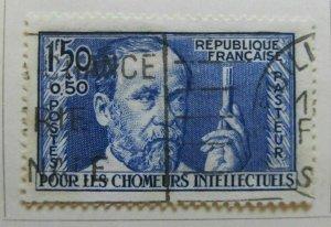 A8P6F90 France 1936 Semi-Postal Stamp 1.50fr+0.50fr used