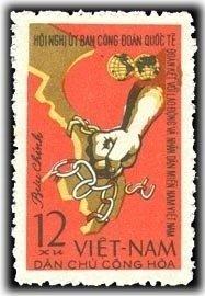 Vietnam 1963 MNH Stamps Scott 275 Trade Unions Handcuffs