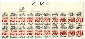 2053 Mint,OG,NH... Plate Block of 20... SCV $10.00