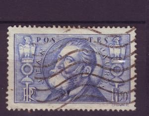 J4749 JLstamps 1936 france used hv set #314 jaures