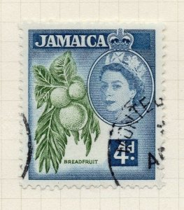 Jamaica 1956 Early Issue Fine Used 4d. 283893