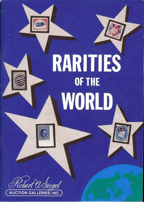 Rarities of the World including the Estate of F. Cabot Ho...