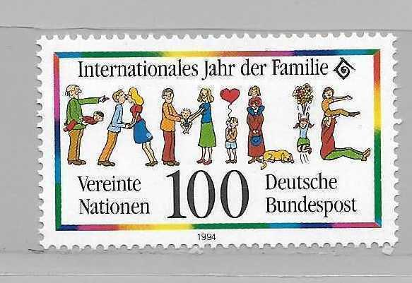 Germany 1821 International Year of the Family single MNH