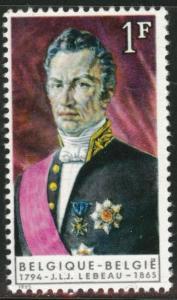 Belgium Scott 640 MH* 1965 stamp