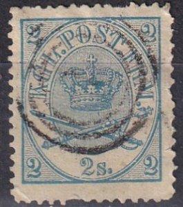 Denmark #11  Used  CV $35.00 (Z6411)
