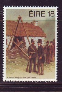 Ireland Sc 513  1981 Land Law Act stamp mint NH