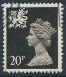Great Britain Wales  SG W52 SC# WMMH38 Used   20p Machin see scan