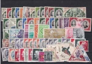 Monaco Mounted Mint + Used Stamps Ref 26360