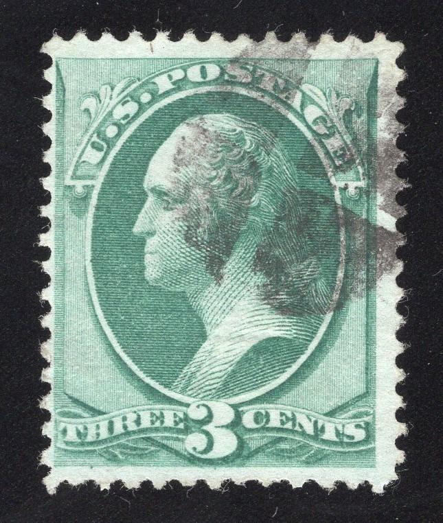 US#136 Green - Grilled Banknote - Used