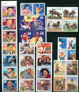 US 1993 Commemorative Year Set 71 stamps,  Mint NH, see scans