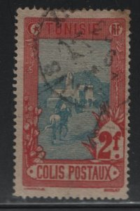 TUNISIA , Q9, USED, 1906 Mail delivery