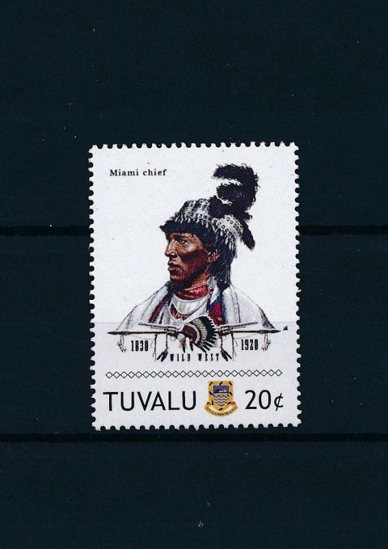 [80909] Tuvalu 2011 Native Americans Indians Miami Chief MNH