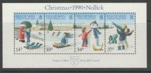 ISLE OF MAN SGMS463 1990 CHRISTMAS MNH