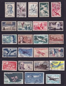 France a page of decent cv Commem & Airs used