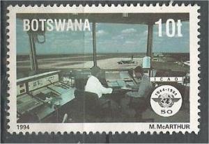 BOTSWANA, 1994, MNH 10t, ICAO, Scott 566