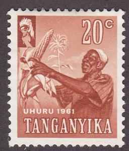 Tanganyika 48 Harvesting Corn 1961