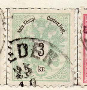 Austria 1883 Early Issue Fine Used 3kr. NW-11542