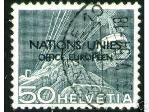 United Nations Europe, Scott # 7o9CV $10.50