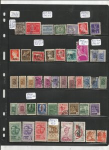 ITALY COLLECTION ON STOCK SHEET, MINT/USED