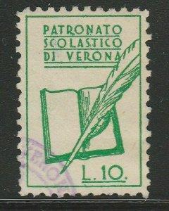 Italy Municipal Revenue Marca Comunale Usata Verona A18P6F530