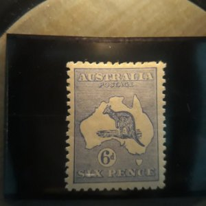 australia 48  1915  6p ultra VF