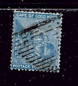 Cape of Good Hope 17 Used 1865 issue