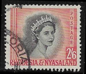 Rhodesia - Nyasaland  152 used 2017 SCV $2.25