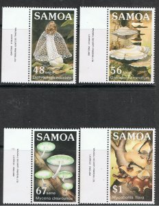 SAMOA 1985 FUNGI