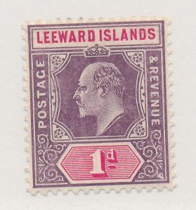 Leeward Islands Stamp Scott #30, Mint Hinged - Free U.S. Shipping, Free World...