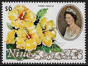 Niue #333 MNH Stamp - Flowers