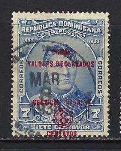 DOMINICAN REPUBLIC G1 VFU Z7895-1