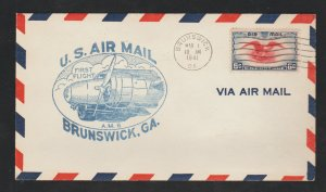 US AIRMAIL12 EACH FIRST FLIGHT COVERS &  FDI COLLECTIONS LOT #3