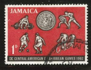 Jamaica Scott 197 used 1962 stamp