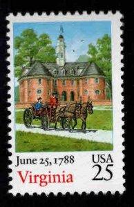 USA Scott 2345 Virginia stamp MNH**
