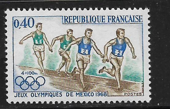 FRANCE, 1223, MNH,OLYMPIC RUNNERS
