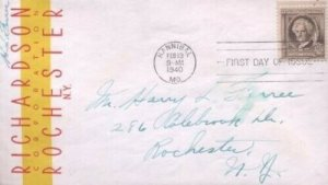 863 10c MARK TWAIN - SAMUEL CLEMENS - Richardson