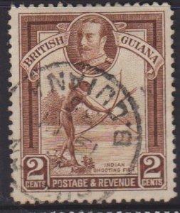 British Guiana Sc#211 Used