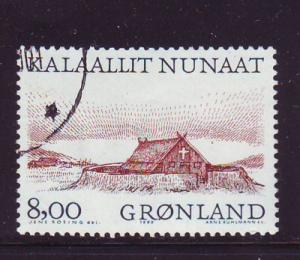 Greenland Sc 354 1999 8 kr Viking Church stamp used