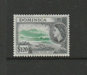 Dominica 1954/62 Defs $1.20 MM SG 157