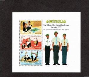 Antigua 1977 Sc 471a MNH Souvenir Sheet Perforate