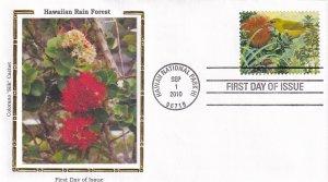2010, Hawaiian Rain Forest, Colorano Silk, FDC (E12227)