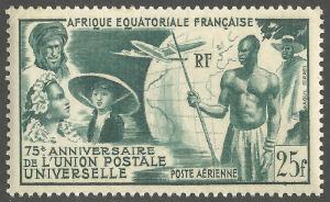 FRENCH EQUATORIAL AFRICA SCOTT C34