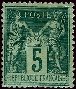 France SC#78 Mint F-VF hr  SC$25...Such a Deal!