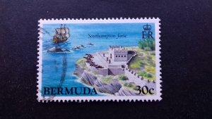 Bermuda 1982 Historic Bermuda Forts Used